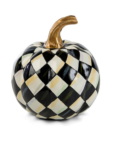 Courtly Harlequin Mini Pumpkin