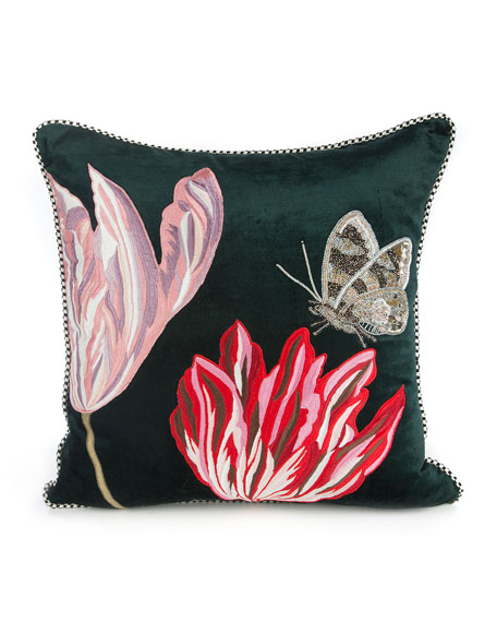 MacKenzie-Childs Amsterdam Square Pillow
