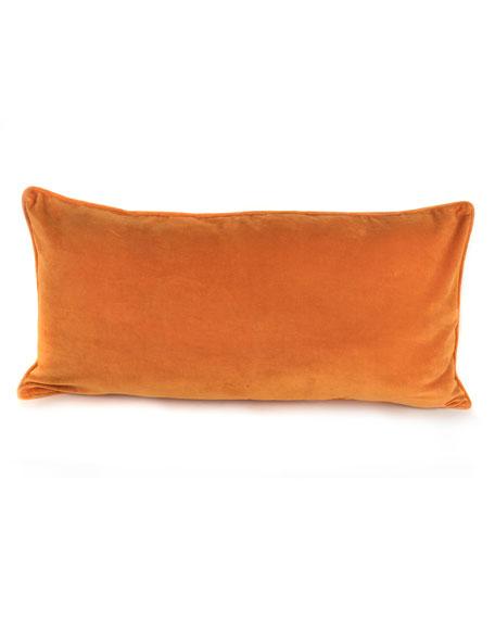 Monarch Butterfly Lumbar Pillow
