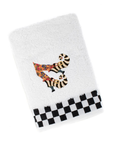 MacKenzie-Childs Witches Shoes Hand Towel