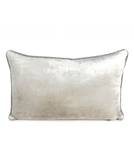 Glimmer Glass Lumbar Pillow