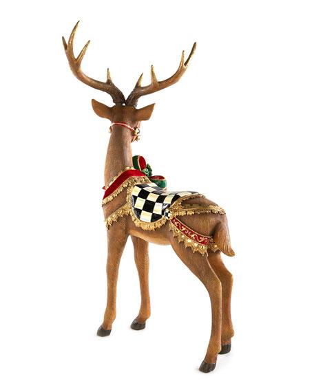 Brown Bow Tie Deer Standing
