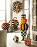 NM Courtly Stacking Pumpkin Topiary