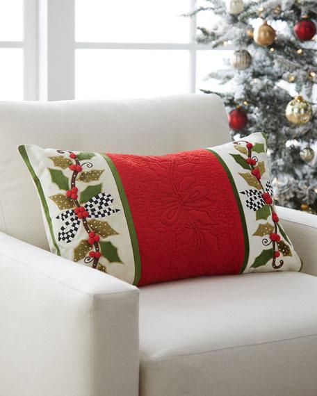 Mistletoe Lumbar Pillow