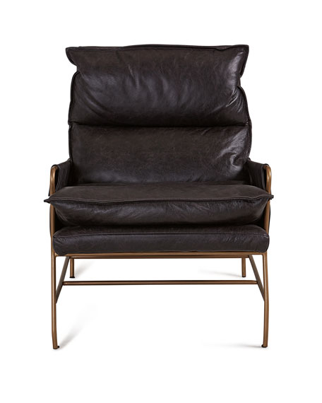 Aria Leather Lounge Chair