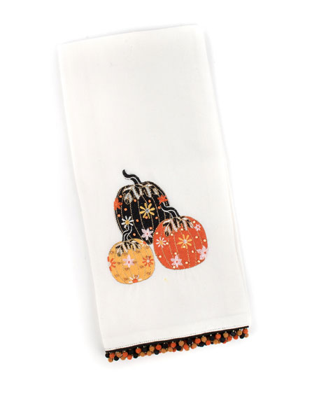 MacKenzie-Childs Pumpkin Party Dish Towel
