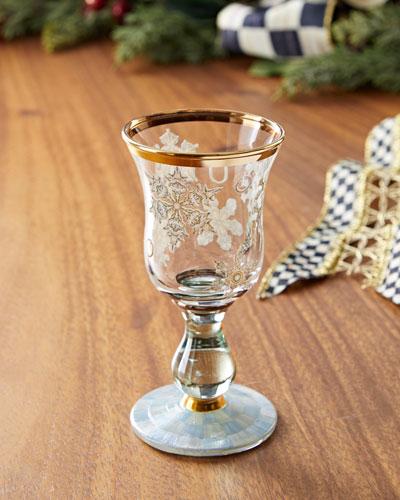 Snowfall Cordial Glass