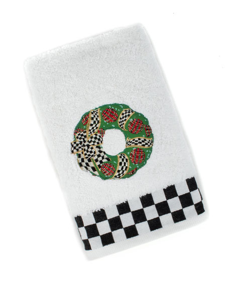 MacKenzie-Childs Wreath Hand Towel