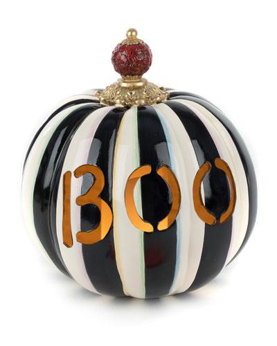 Boo Illuminated Pumpkin