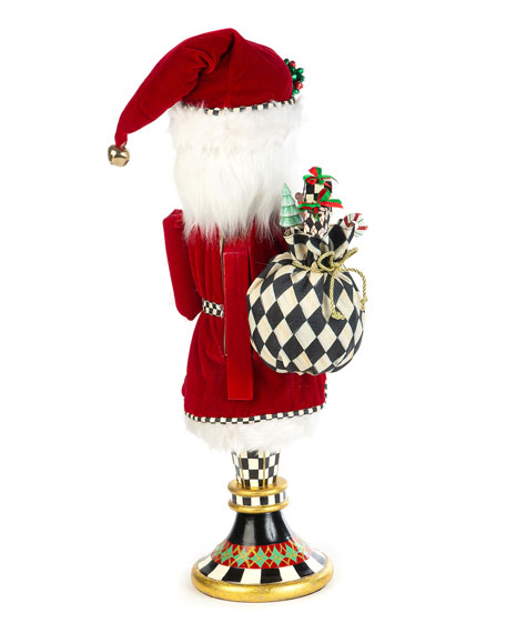 Father Christmas Pedestal Nutcracker