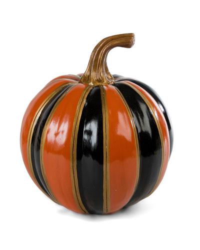 Striped Small Pumpkin