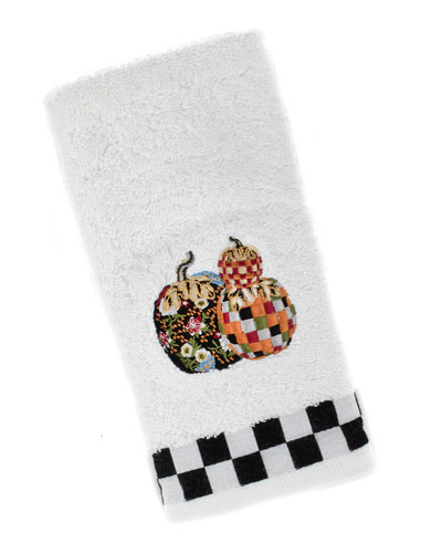 Pumpkin Party Fingertip Towel