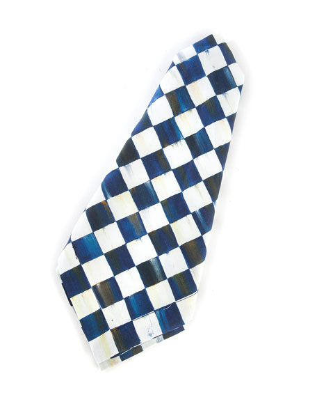 MacKenzie-Childs Royal Check Napkin