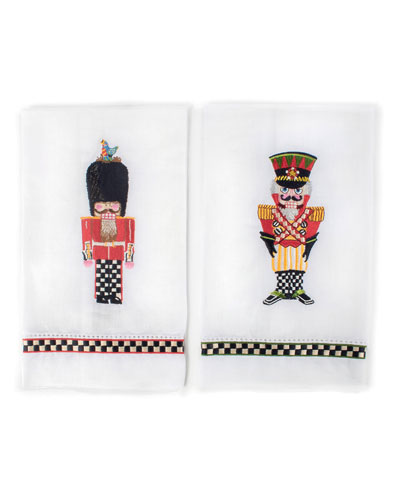 Palace Guards Guest Towels  Set of 2