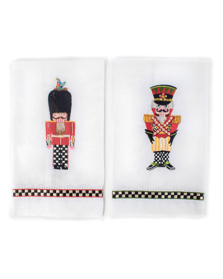 Palace Guards Guest Towels, Set of 2