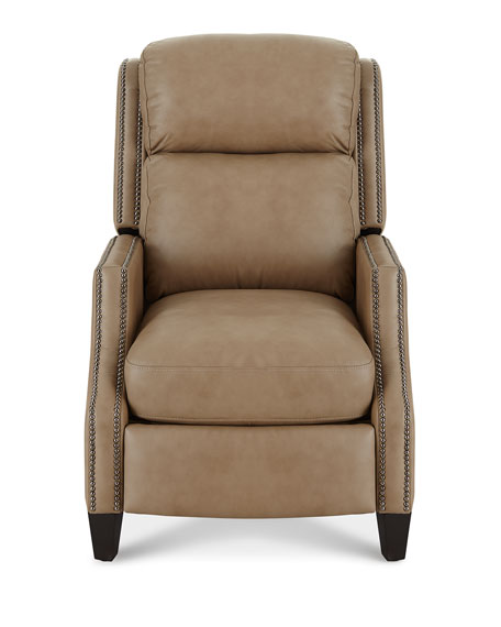 Turning Dual Power Leather Recliner