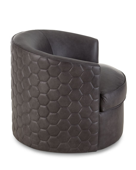 Remarkable Corbin Leather Swivel Chair Machost Co Dining Chair Design Ideas Machostcouk