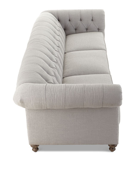 "London Club Sofa, 116"""