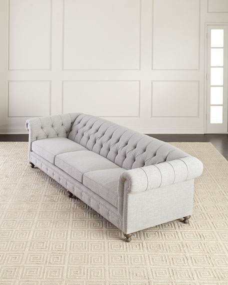 Bernhardt London Club Sofa, 116