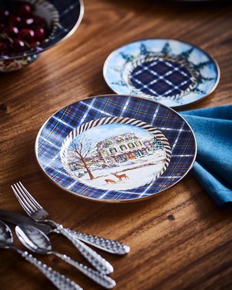 MacKenzie-Childs Highbanks Dinner Plate
