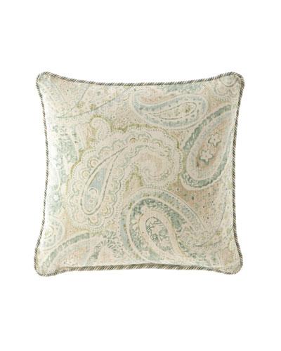 Bliss Paisley Pillow  20Sq.