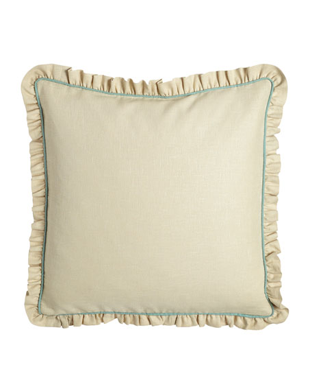 Bliss Ruffled European Sham