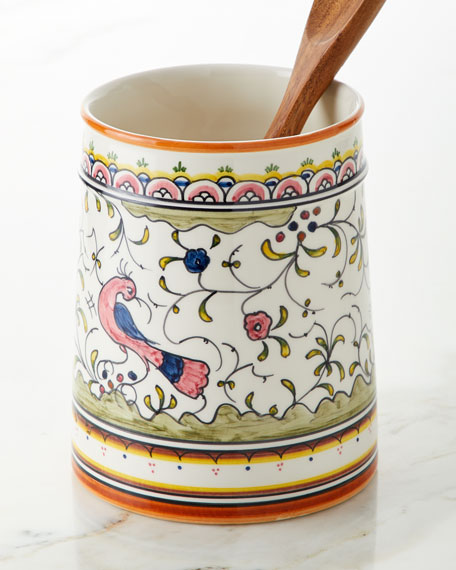 Keramos Nazari Pavoes Utensil Holder
