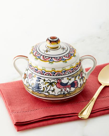 Keramos Nazari Pavoes Sugar Bowl