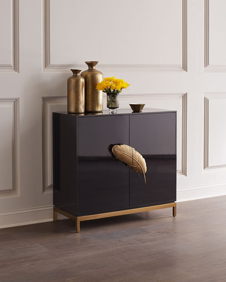 Like A Feather Bar Cabinet
