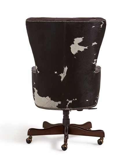 Hair on Hide Executive Swivel Office Chair