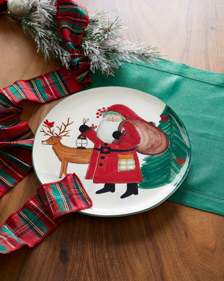 2019 Limited Edition Old St. Nick Round Platter