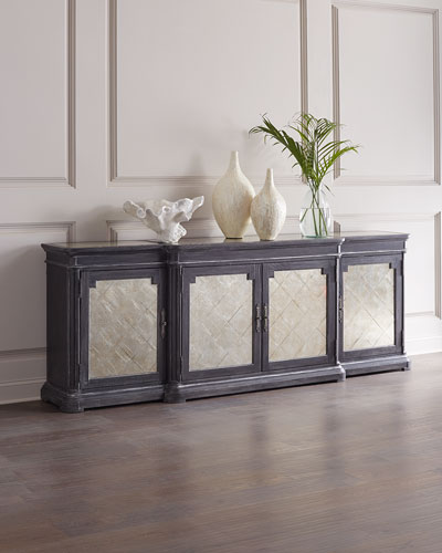 Woodlands Eglomise Dining Console