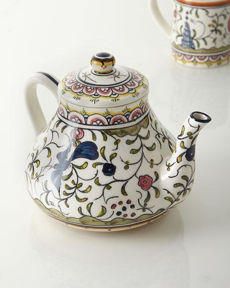 Keramos Nazari Pavoes Teapot
