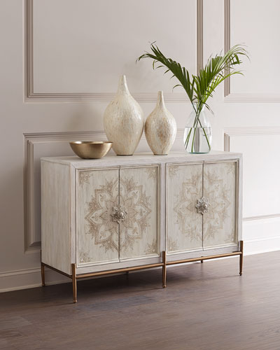 Delilah Hand-Painted Accent Chest