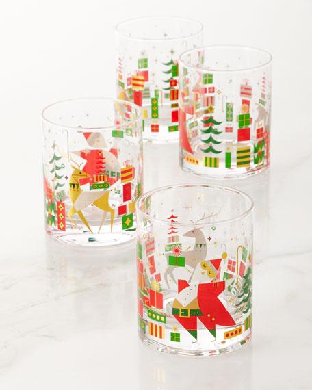 Qualia Glass 2019 New Crazy Good Cheer Glasses,