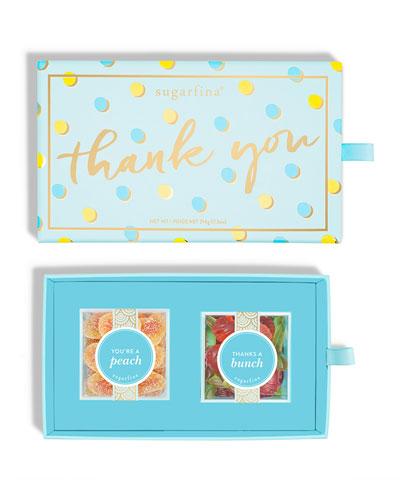 Thank You 2-Piece Candy Bento Box