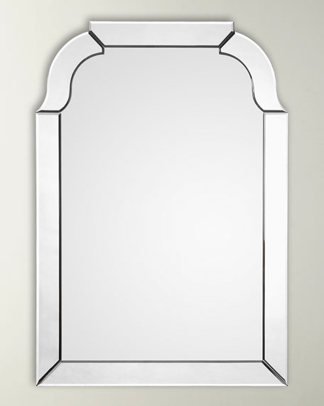 Rounded Mirror Framed Mirror