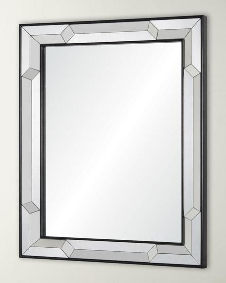 Ebony Bordered Mirror Framed Mirror