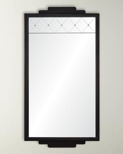 Dark Mahogany Mirror