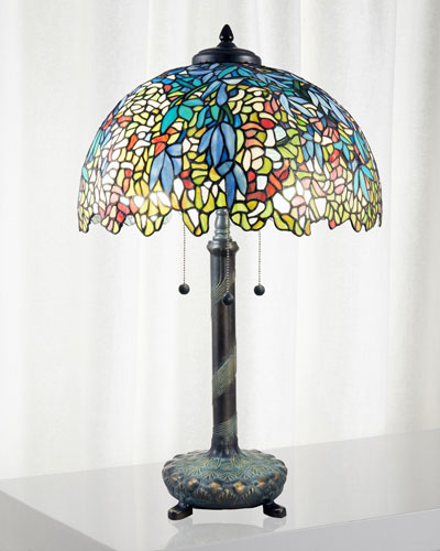 Wisteria Tiffany Table Lamp