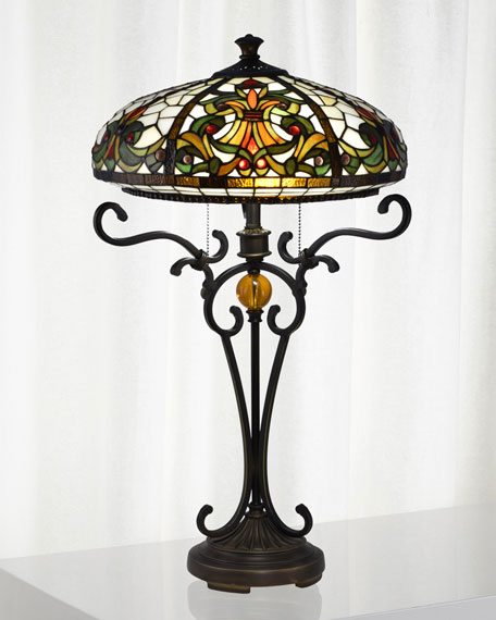 Boehme Tiffany Table Lamp