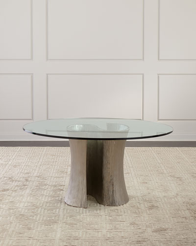 Serpentine Round Dining Table