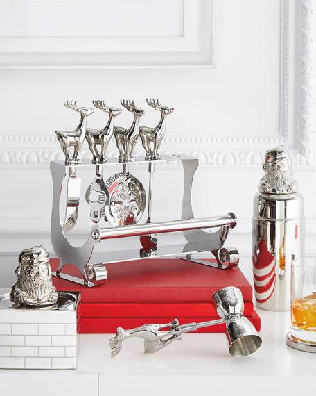 Santa 4-in-1 Wine Set