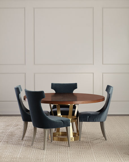 Tahlia Azure Dining Side Chair