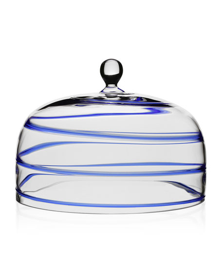 Bella Blue Cake Dome