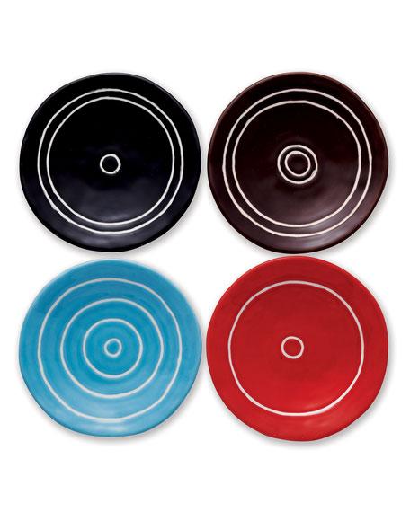 Classic Circle Trinket Trays, Set of 4