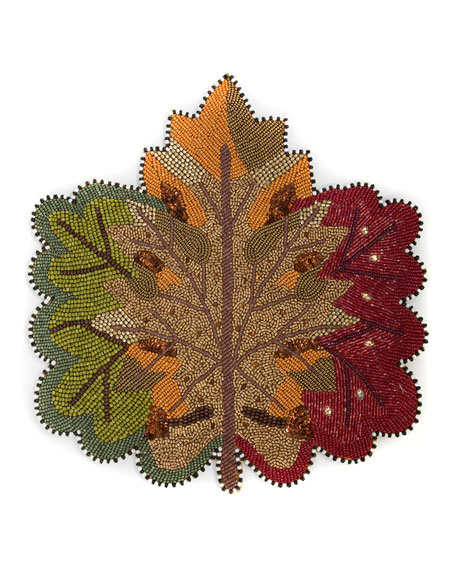 MacKenzie-Childs Autumn Leaves Placemat