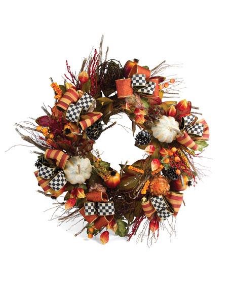 MacKenzie-Childs Large Harvest Wreath