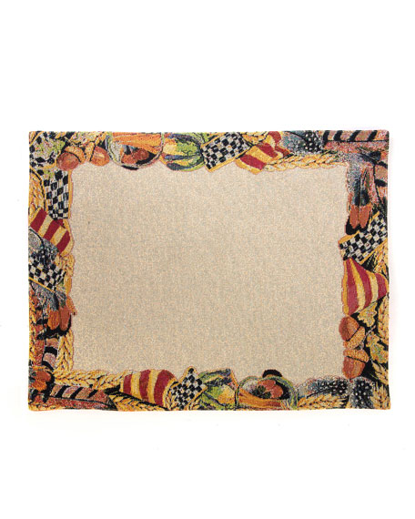 MacKenzie-Childs Pheasant Run Placemats, Set of 4