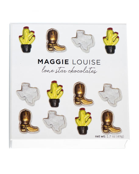 Lone Star Sweets Chocolate Gift Boxes, Set of 4